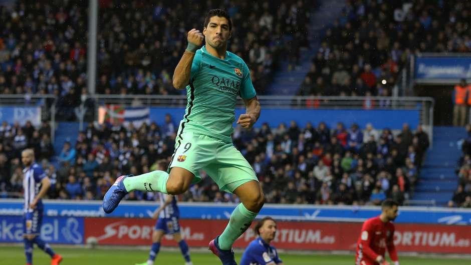 Luis Suarez Barcelona Alaves La Liga