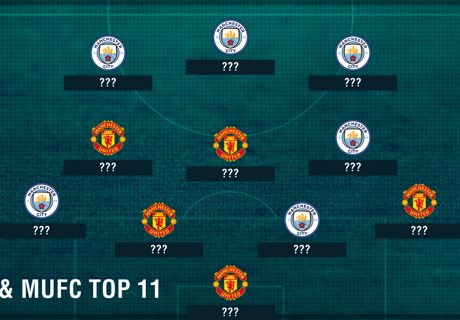 Top-11 aus City und United
