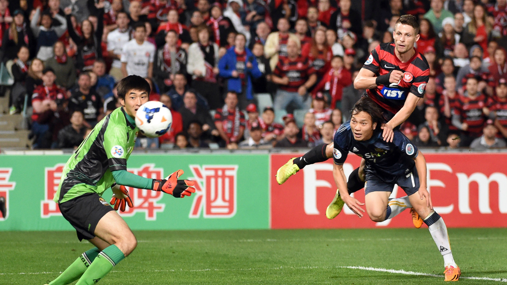 Shannon Cole Western Sydney Wanderers v FC Seoul AFC Champions League 01102014