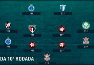 Goleiro do líder da competição, atacante camaronês que marcou dois em seu ex-time e novo homem-gol do Cruzeiro. Os melhores do Brasileirão na rodada