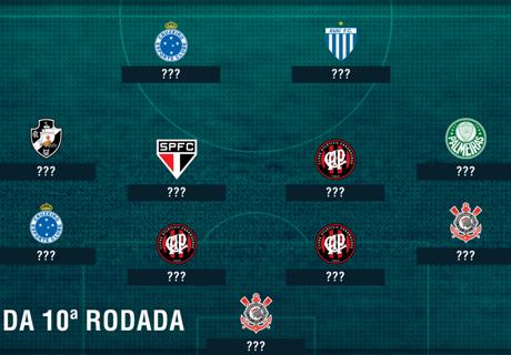 Seleção da 10ª rodada do Brasileiro