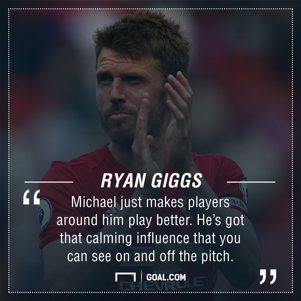 Ryan Giggs Michael Carrick