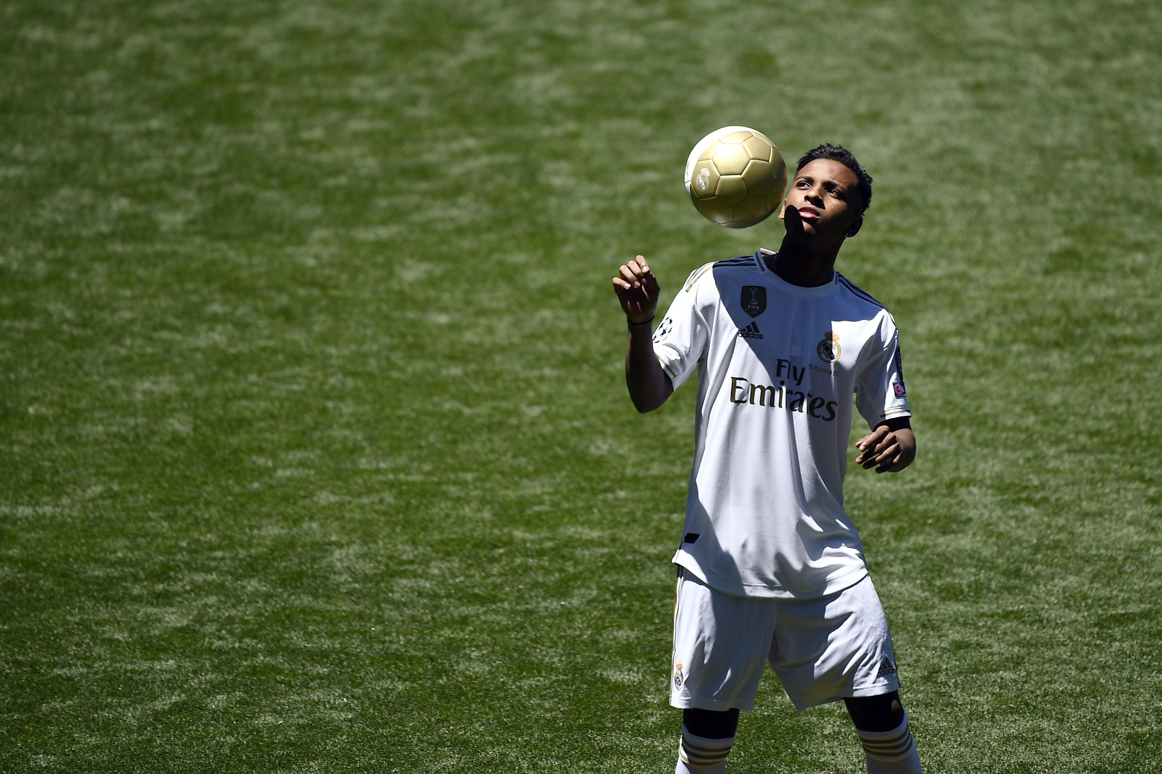 """Real Madrid : Rodrygo et son """"fond d'écran"""" Eden Hazard"""