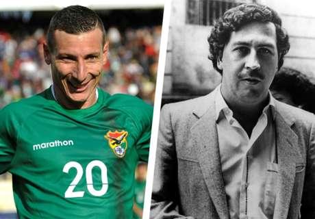Meet footballing legend Pablo Escobar
