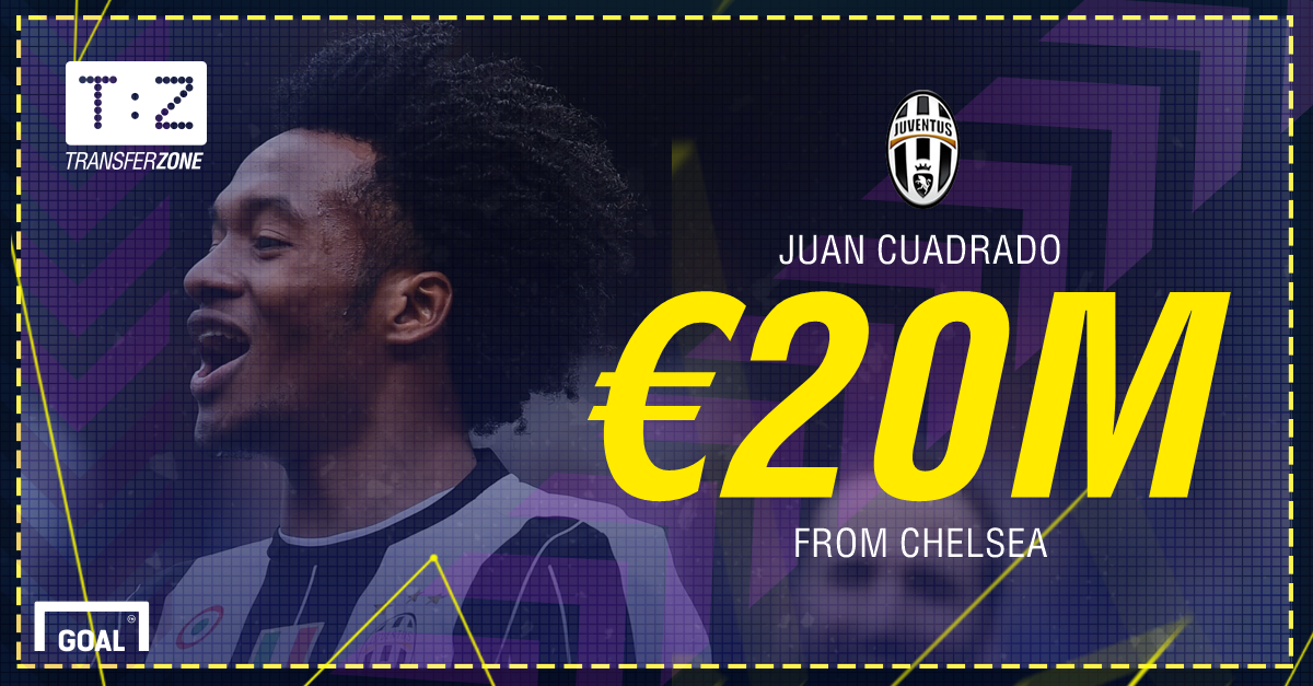 Juan Cuadrado: Winger leaves Chelsea to complete £17m Juventus deal