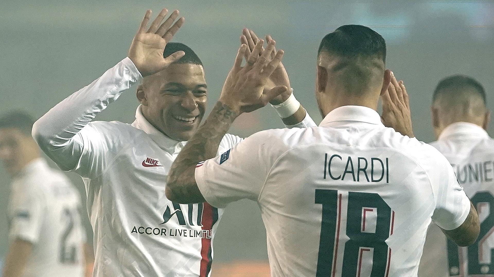 Bruges-PSG (0-5) - Mbappé, Icardi et toutes les réactions