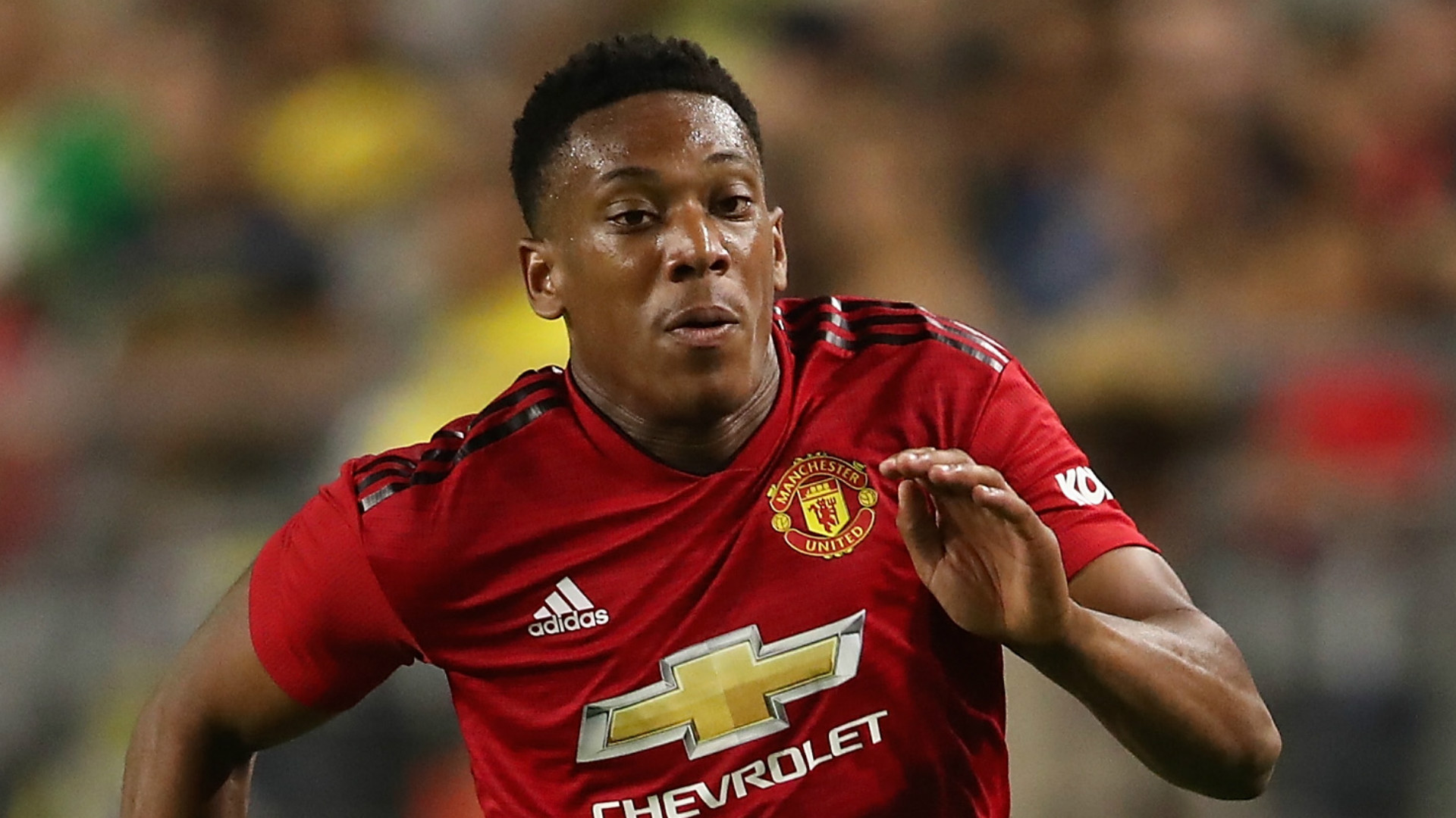 Manchester United forward Anthony Martial: 'Family comes first'