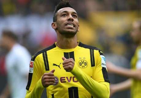 Auba equals Dortmund club record