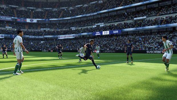 FIFA 18 passing