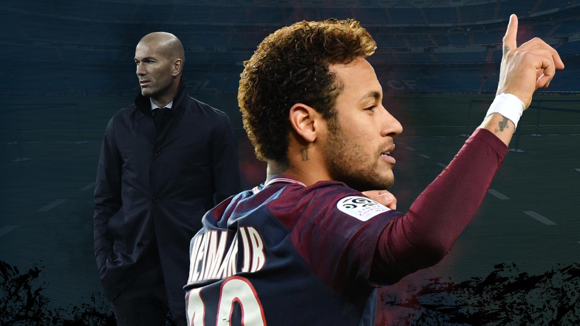 """Mercato - Real Madrid, Zidane : """"Neymar ? Il se passera ce qu'il se passera"""""""