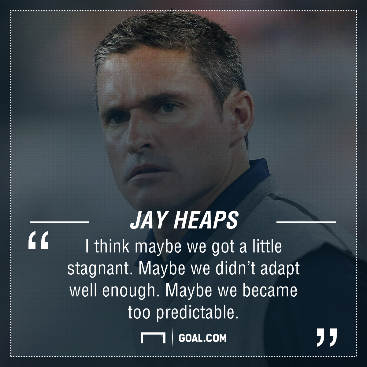 Jay Heaps playing surface