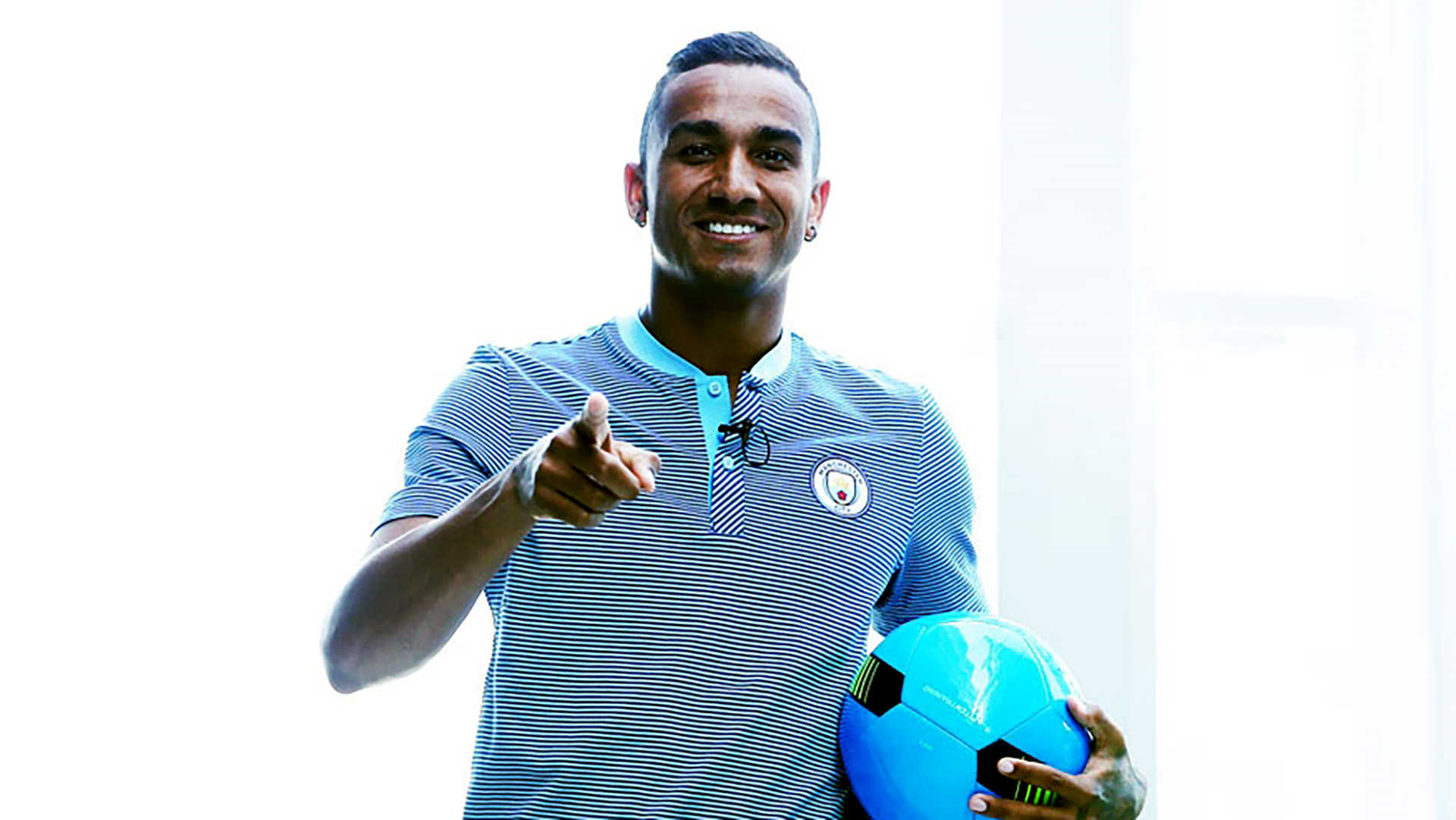 Danilo Luiz Manchester City unveiling 07232017