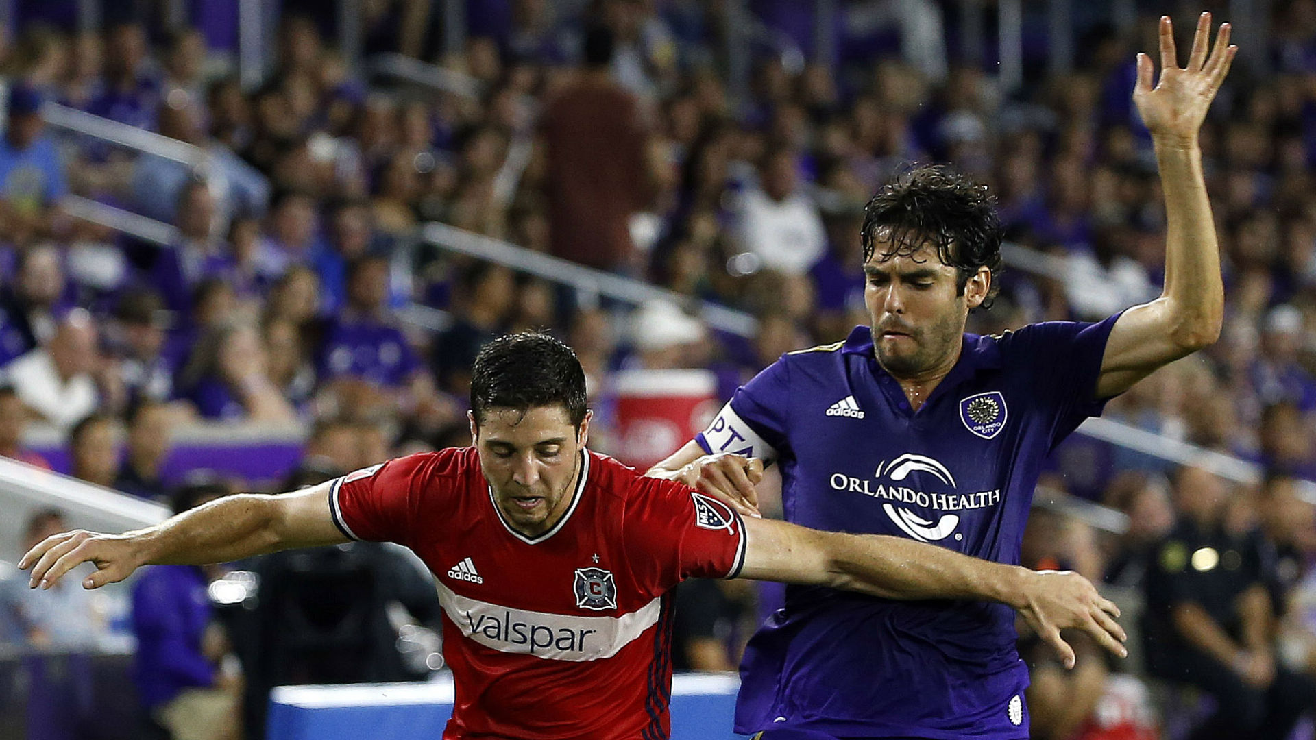 Matt Polster Kaka Chicago Fire Orlando City MLS