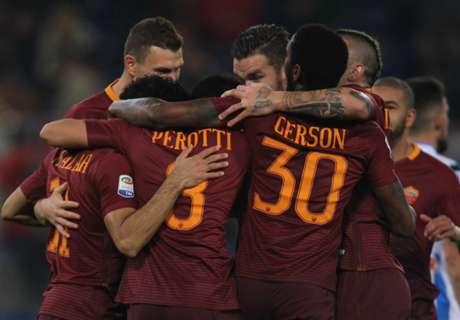 Dzeko Bawa Roma Kembali Ke Runner-Up