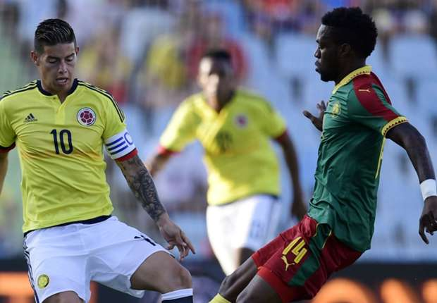 Colombia show Nigeria that Cameroon are beatable