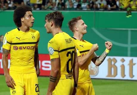 Kishíján megégett a kupában a Dortmund