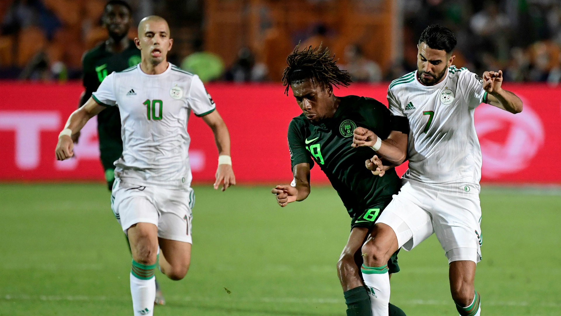 Better with Nokia: Algeria v Nigeria