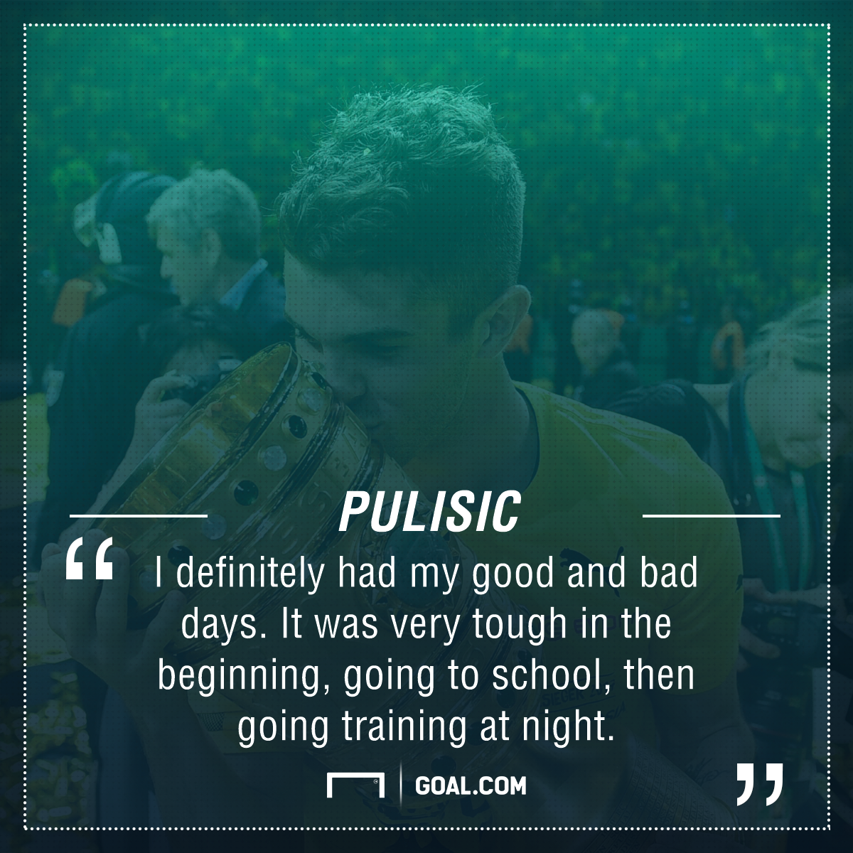 Christian Pulisic quote 06072017