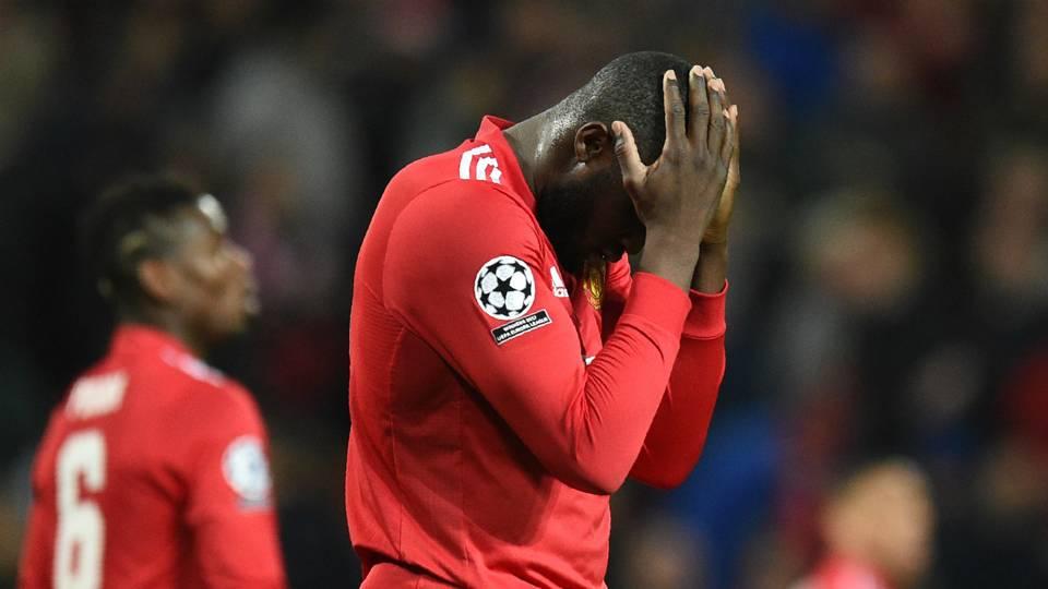 Romelu Lukaku Paul Pogba Manchester United Sevilla Champions League