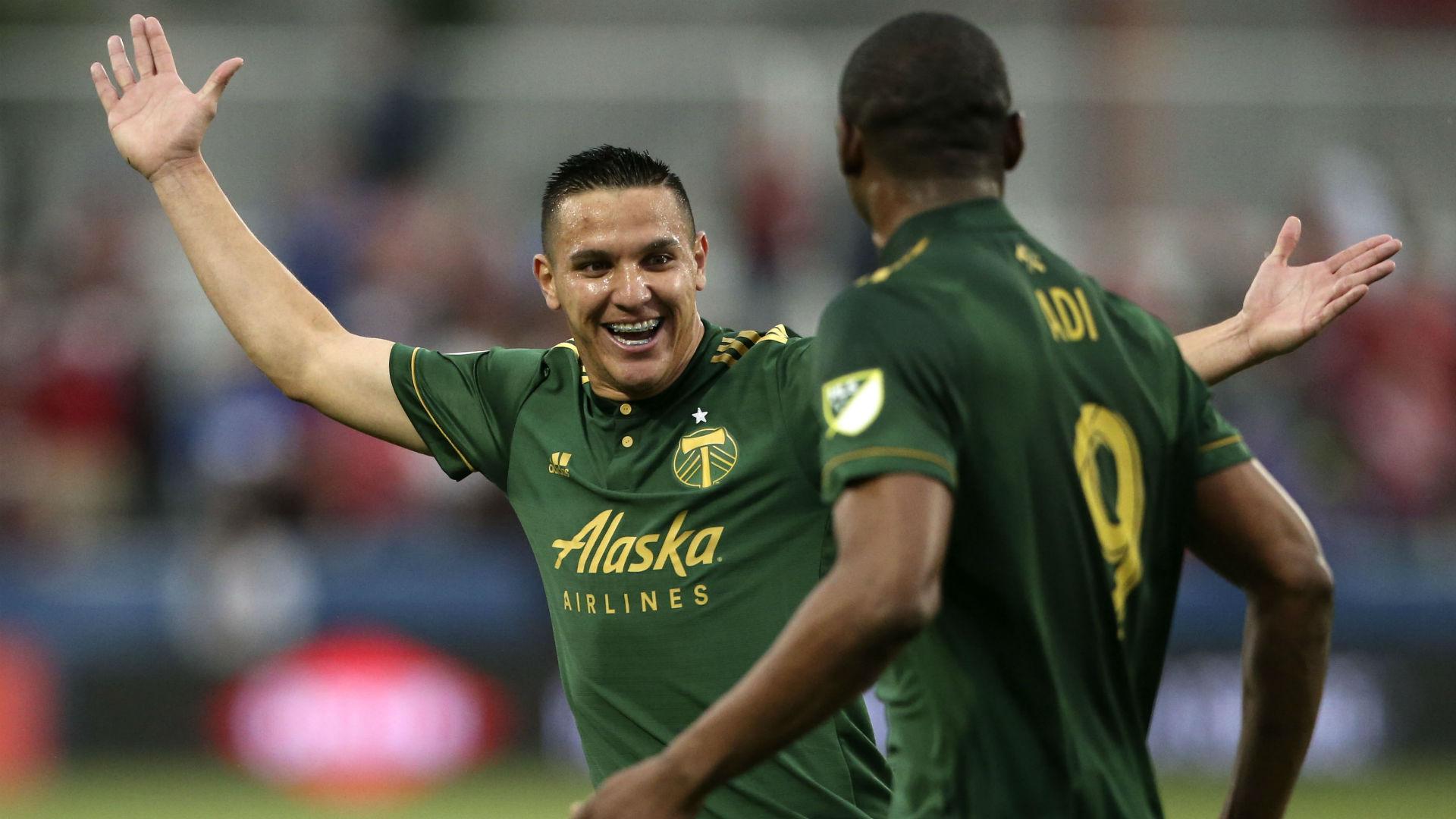 Fanendo Adi David Guzman Portland Timbers MLS