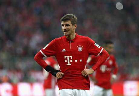 What's happened to Thomas Muller?