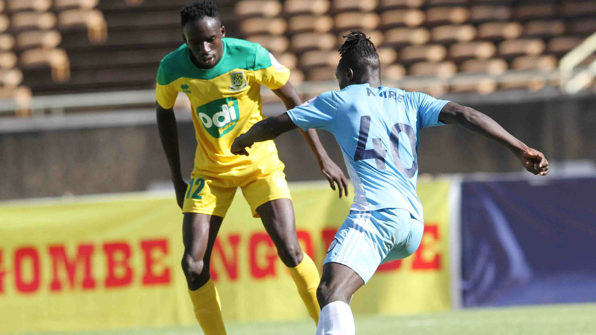 Andrew Juma: Mathare United defender relishing upcoming clash vs Enosh Ochieng
