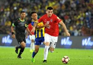 Gabriel Guerra Johor Darul Ta'zim Malaysia FA Cup 01042017