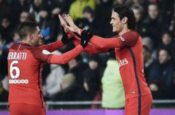 Nantes 0-2 PSG: Cavani double sweeps visitors to victory