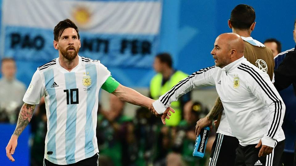 World Cup 2018: Is Messi now Argentina coach? How chaos turned to calm inside Sampaoli's dressing room