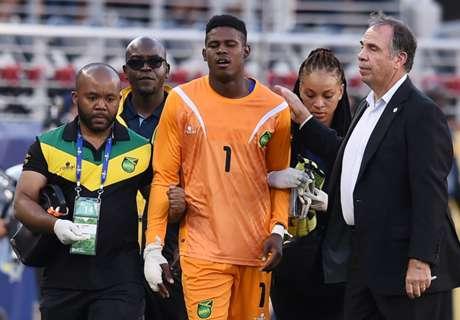 Jamaica's Blake avoids major injury