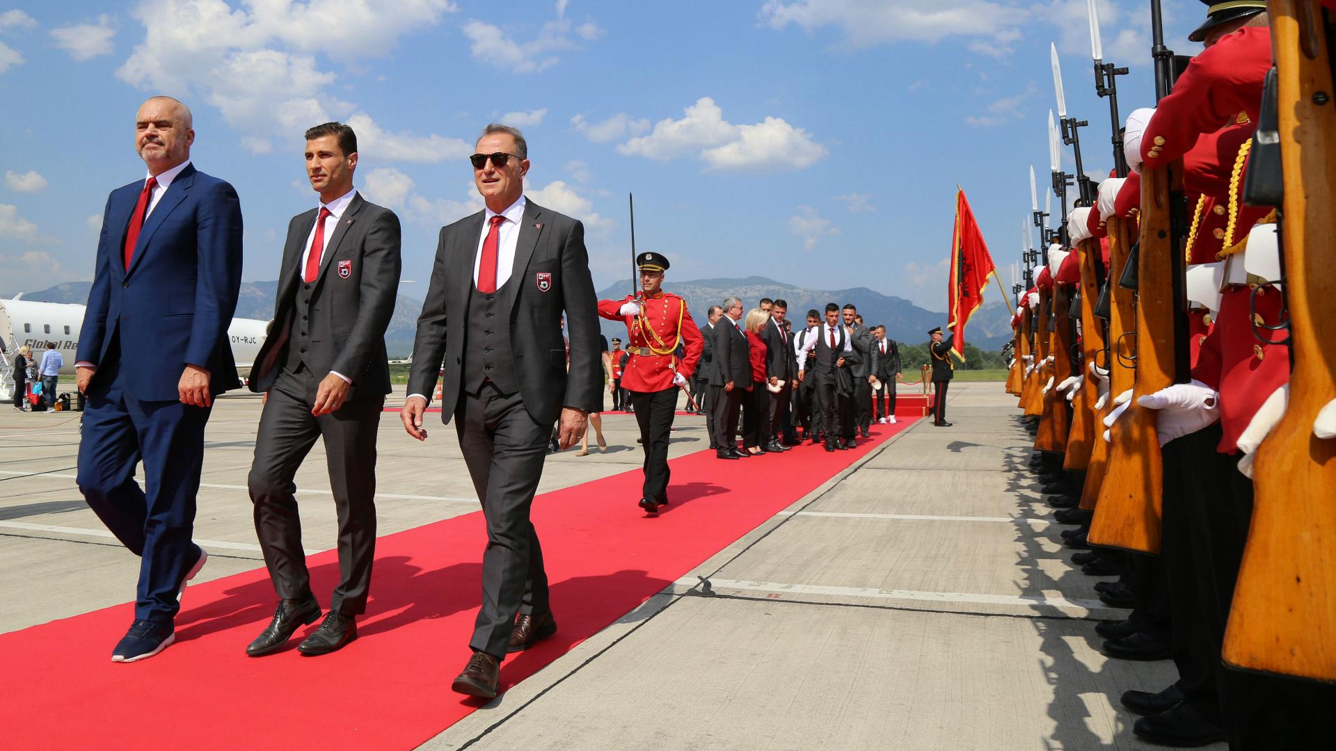 Romania Albania 0-1, orgoglio Tirana, Paese sogna con De Biasi