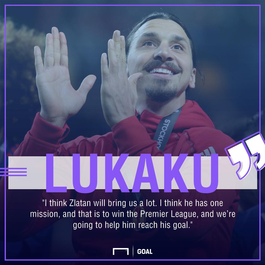 Romelu Lukaku Zlatan Ibrahimovic title target