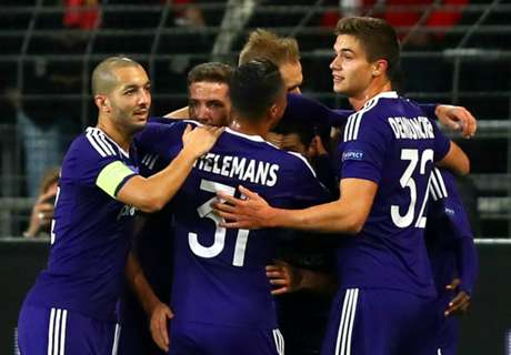 Anderlecht take first-leg win