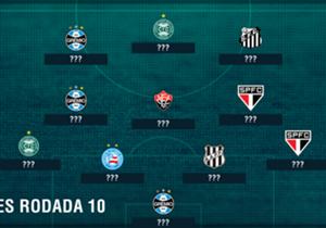 No principal jogo da 10ª rodada, pelo menos três jogadores do Grêmio decepcionaram bastante. Mas em várias outras partidas também aconteceram atuações fracas e às vezes desastrosas. Veja os piores da 10ª rodada do Campeonato Brasileiro
