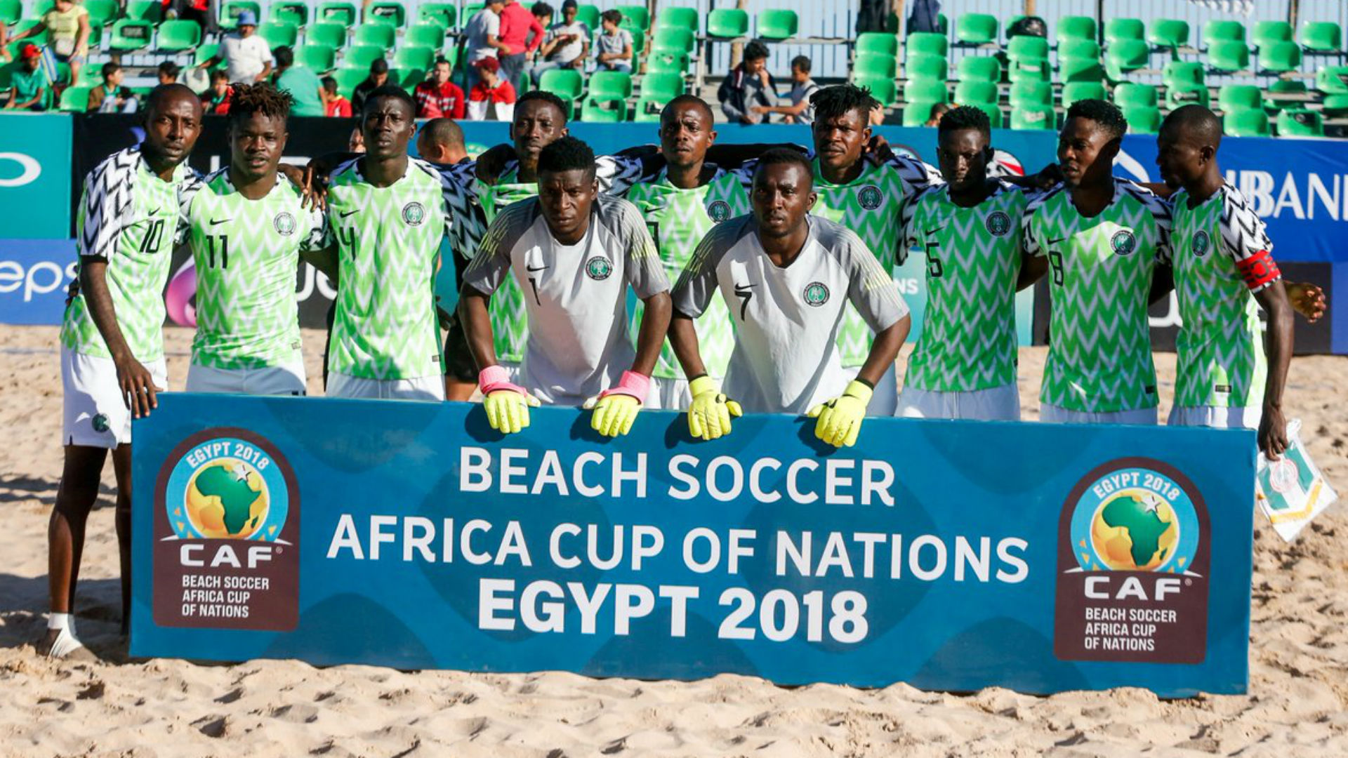 2019 Beach Soccer World Cup: Draw Pairs Nigeria with Brazil, Oman and Portugal