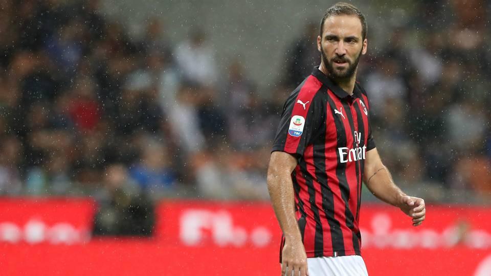 Gonzalo Higuain Milan