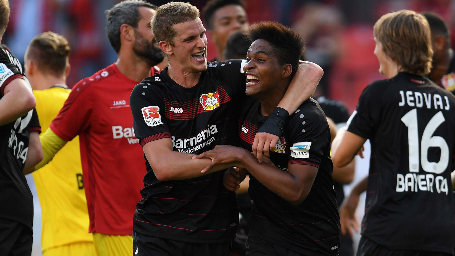 Wendell e Lars Bender - Bayer Leverkusen - 10/09/2016