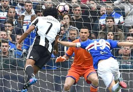 Gol Cuadrado Akhiri Tren Positif Sampdoria