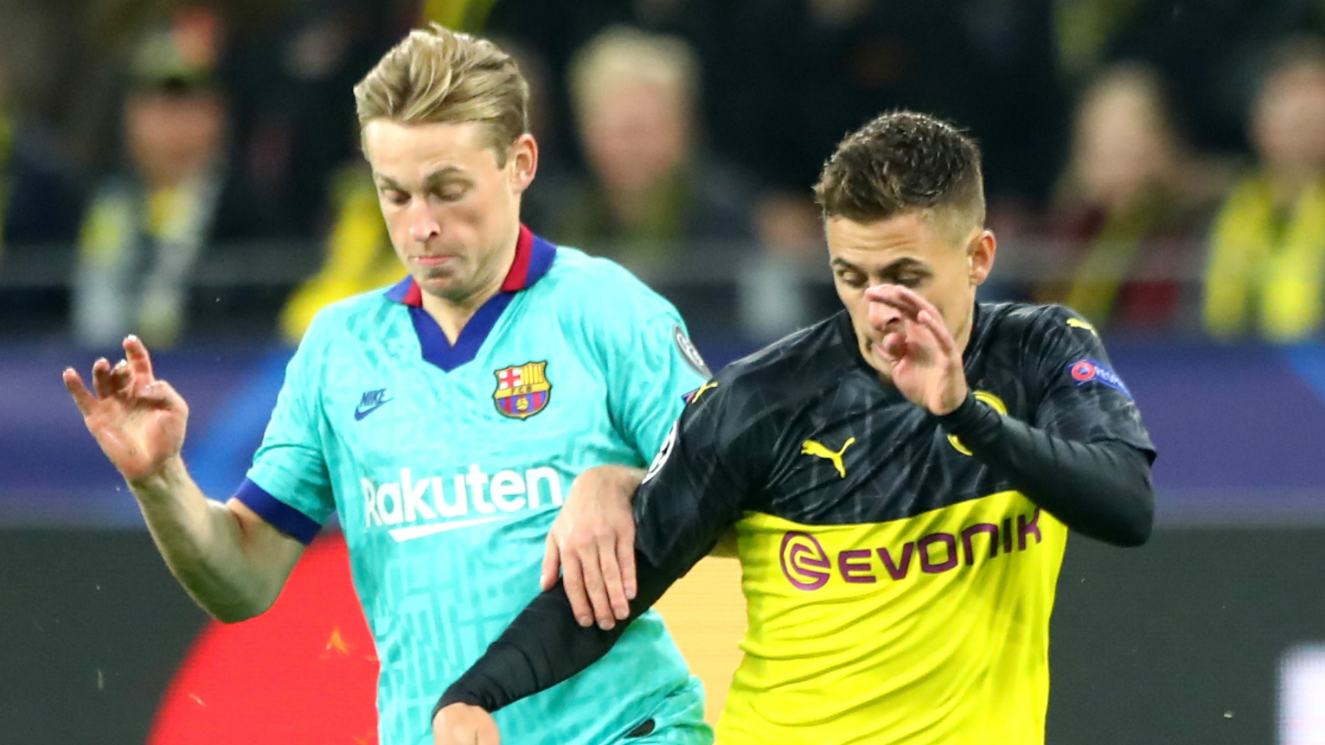 'If I'm not playing well, it's my fault' - De Jong refuses to blame position change for underwhelming Barca form