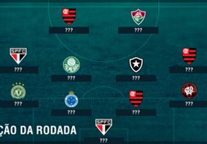 Com triunfos sobre Sport e Vitória, respectivamente, Flamengo engata trio e São Paulo coloca dois na seleção da 24ª rodada do torneio nacional