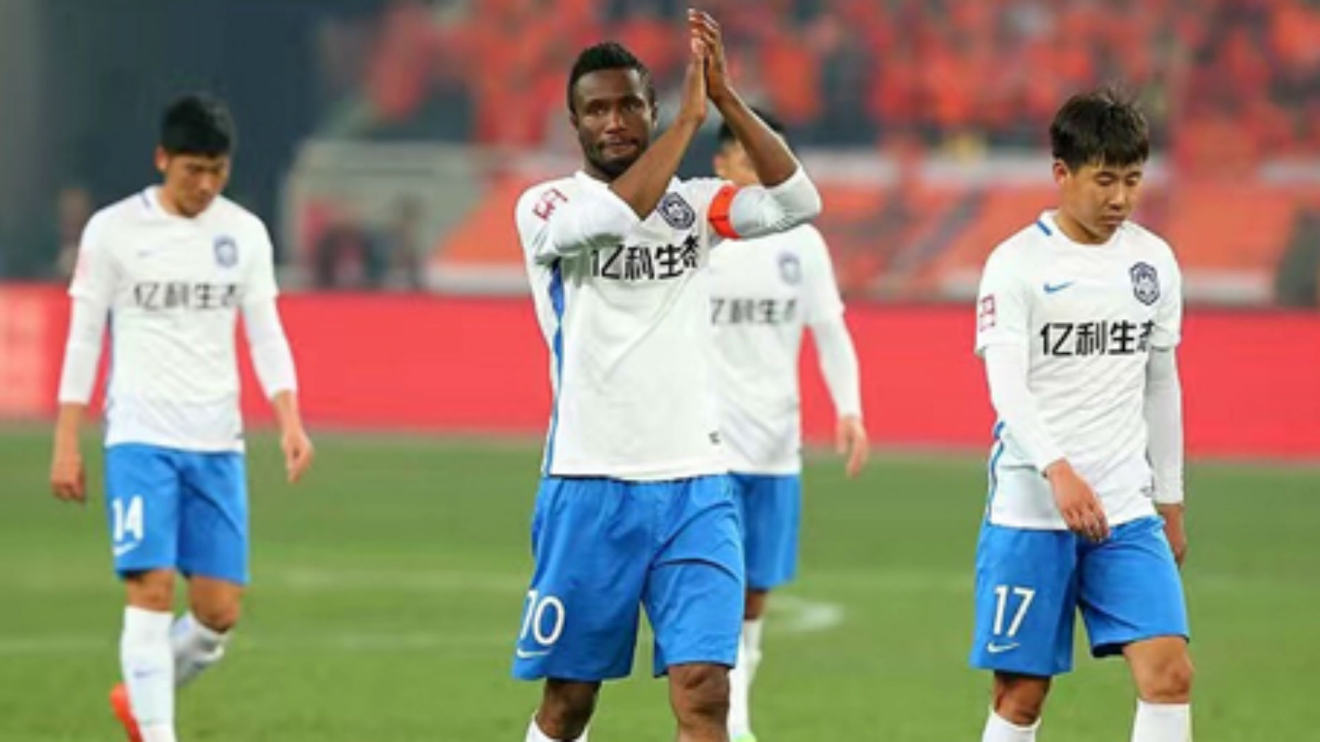 Mikel, Ighalo lose in Chinese Super League opener
