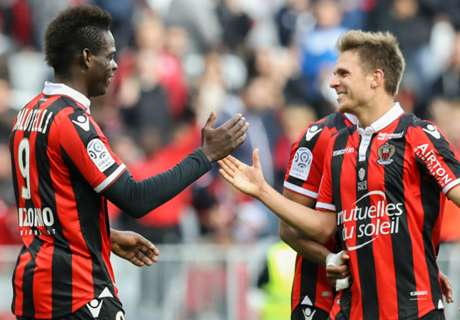 Balotelli on target as Nice stay second