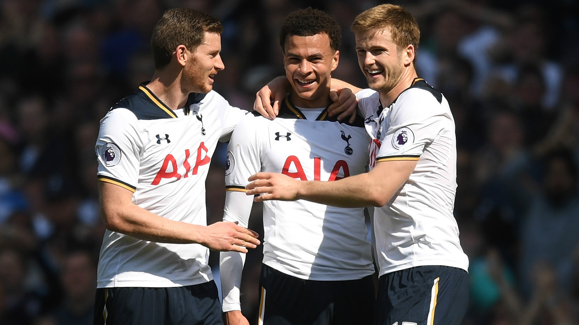 Harry Kane on target as clinical Tottenham dismantle Bournemouth class=