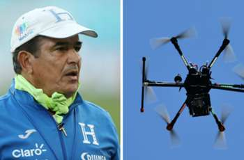Furious Honduras boss claims Australia used a drone to spy on his team