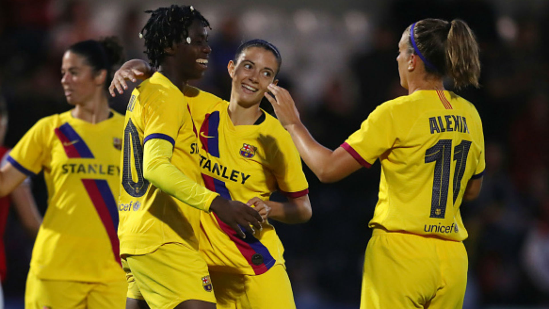 'Every game is important in a Barcelona shirt' - Oshoala targets victory against Aluko's Juventus