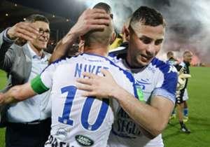 Troyes | El equipo de Jean Louis Garcia consiguió el último cupo a la Ligue 1 mediante un repechaje ante el Lorient, que se jugaba su opción para seguir en Primera y la perdió en su cancha con un 0-0. En la ida, Troyes venció en su cancha por 2-1.