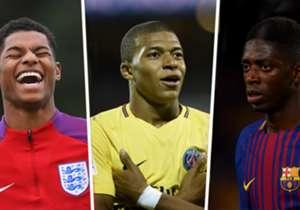 Dembele, Pulisic, Mbappe und Co. Prominente Namen, die Renato Sanches als Golden Boy beerben könnten. Goal zeigt Euch alle möglichen Kandidaten.