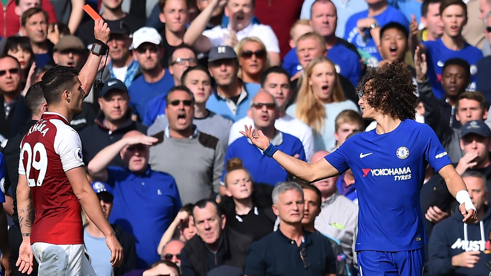 David Luiz Chelsea Arsenal
