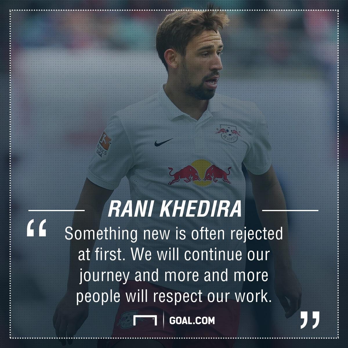 GFX Rani Khedira RB Leipzig progress quote