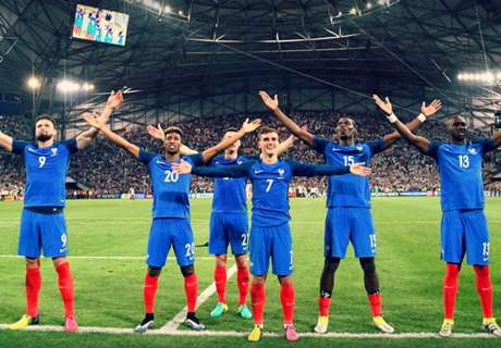 Prancis Umumkan Skuat Terbaru
